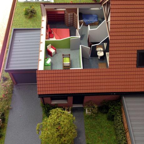 Maquette maison Grenadines