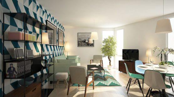 Appartement neuf 3 pièces à Lille