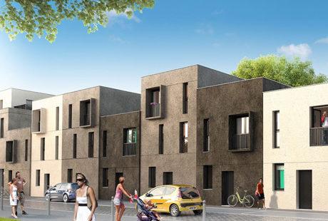 Maisons neuves à Lille Land'Art
