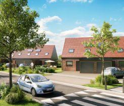 Maison neuve à vendre à Ostricourt