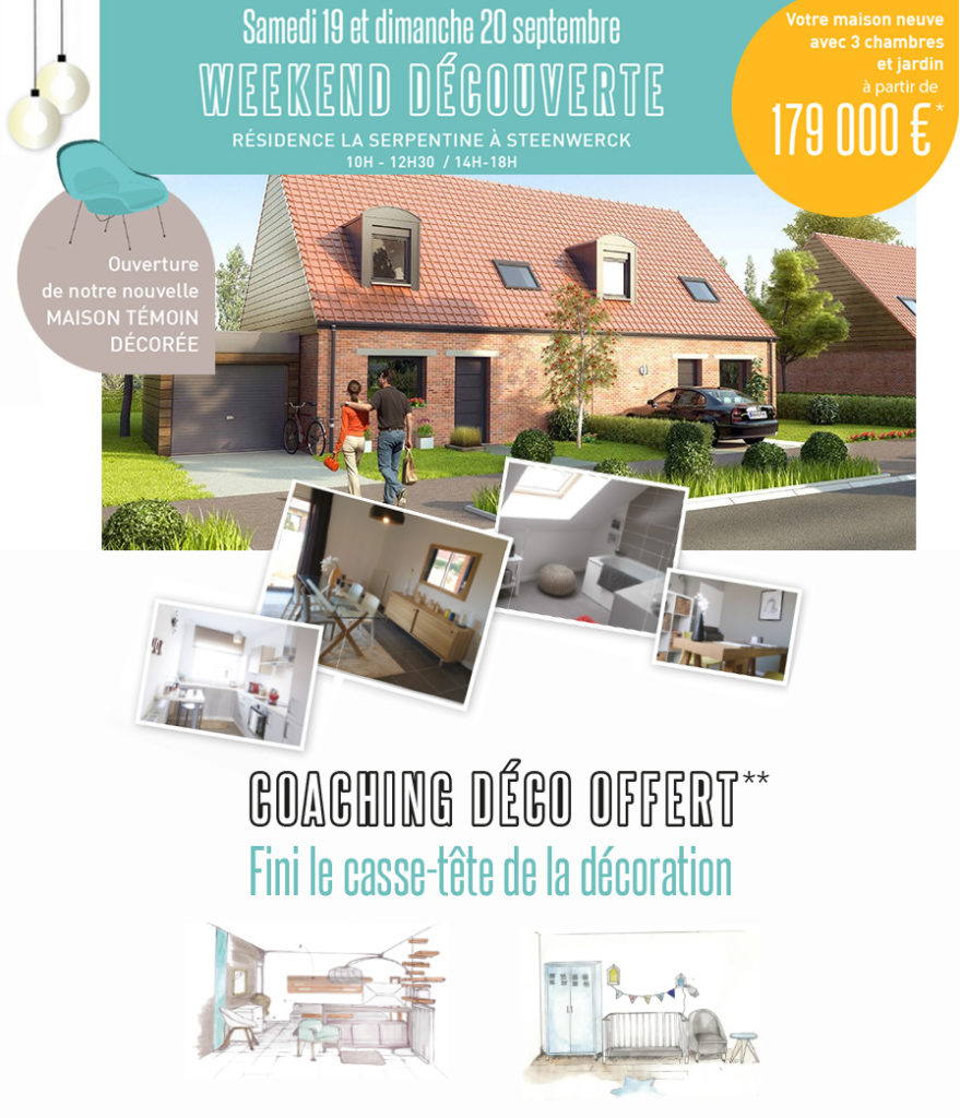 Portes-ouvertes maison témoin à Steenwerck