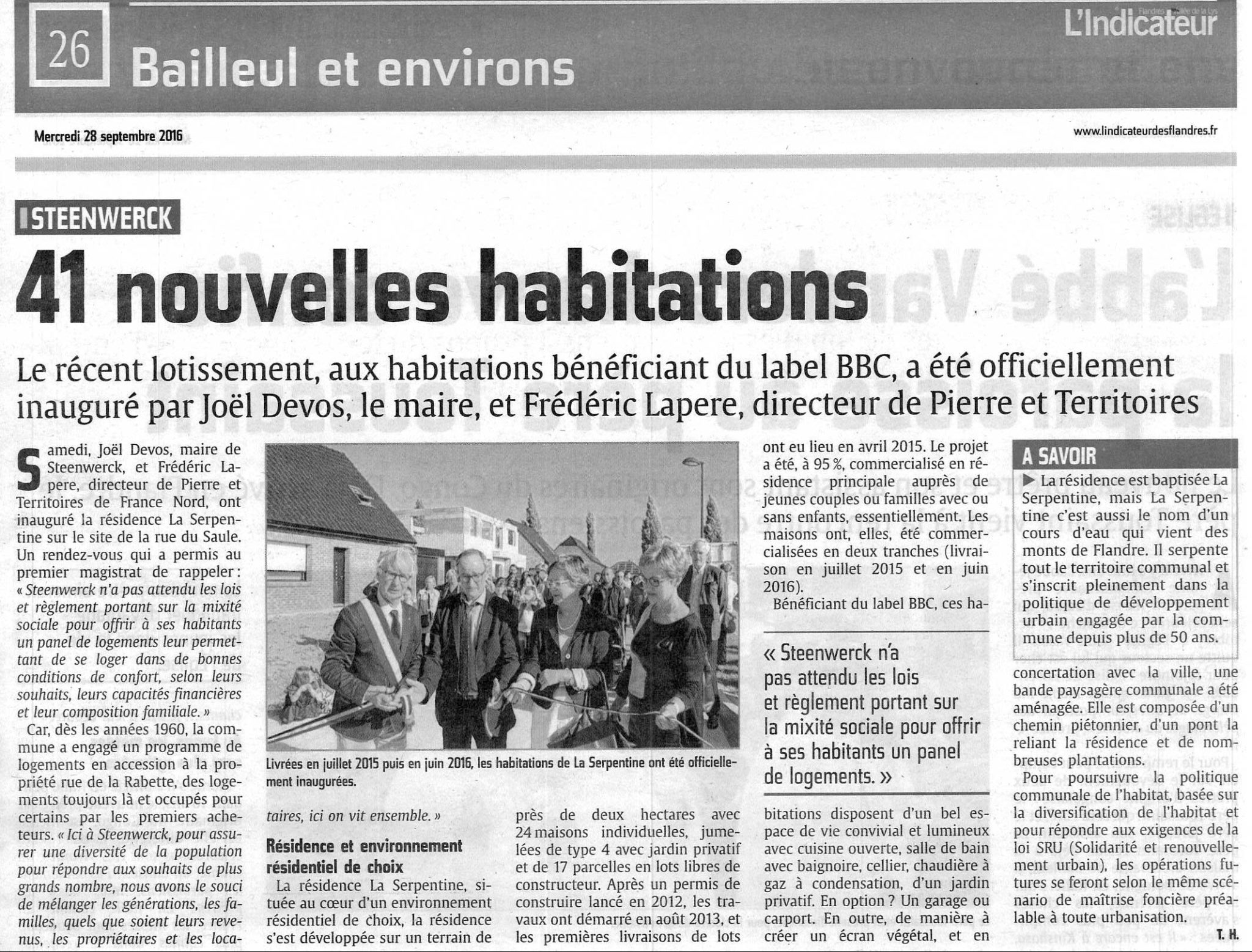 Article Indicateur