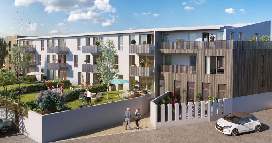 Appartements neufs du T2 au T4 à Lille