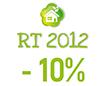 Performance supérieure de 10% à la RT 2012