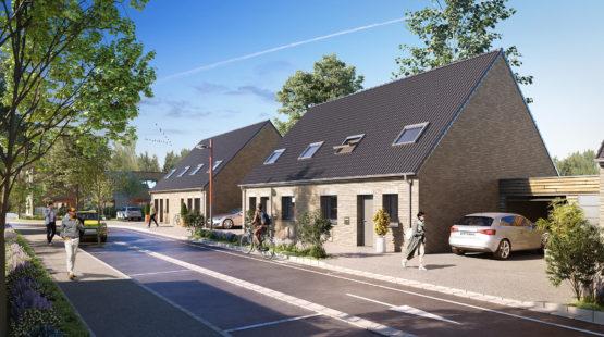 Maisons neuve à Beuvrages - EXT 1 2b - Pierres et Territoires de France Nord